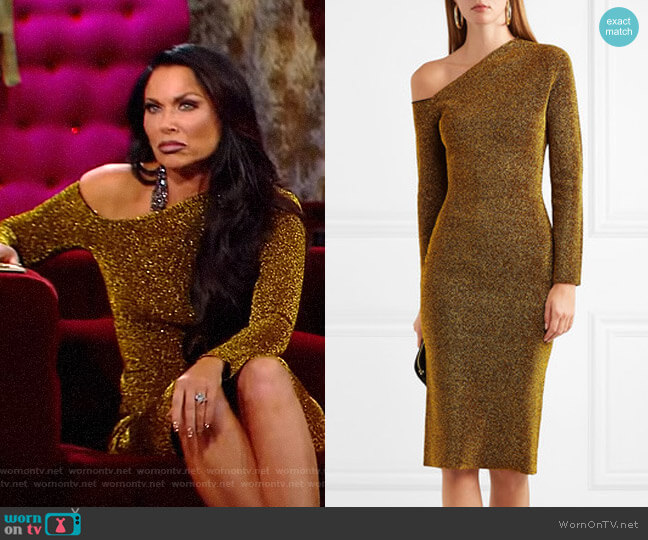 Liva Dress by Solace London worn by LeeAnne Locken  on The Real Housewives of Dallas
