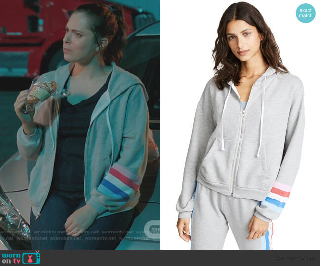 Rebecca's hoodie on Crazy Ex Girlfriend