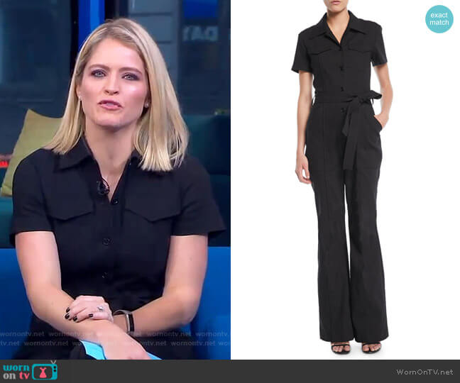 Rivington Jumpsuit by ALC worn by Sara Haines  on Good Morning America