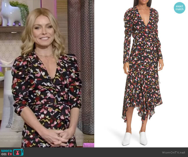 Tianna Dress by ALC worn by Kelly Ripa  on Live with Kelly & Ryan