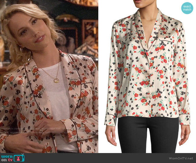 ALC Leomie Shirt worn by Molly McCook on Last Man Standing