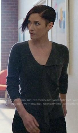 Kara's grey hoodie on Supergirl