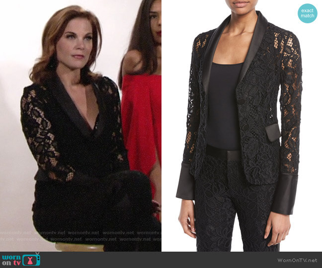 Alexis Bonis Jacket worn by Phyllis Newman (Gina Tognoni) on The Young & the Restless