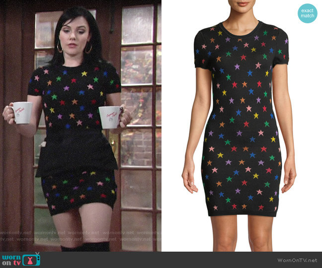 Alice + Olivia Hayden Dress worn by Cait Fairbanks on The Young & the Restless