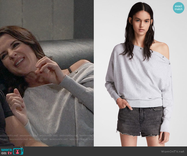 All Saints Elle Sweater worn by Sam McCall (Kelly Monaco) on General Hospital