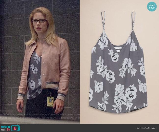 Babaton Everly Camisole worn by Felicity Smoak (Emily Bett Rickards) on Arrow