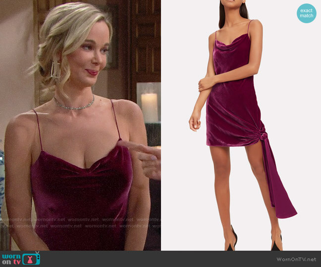 Cinq a Sept Ryder Dress worn by Donna Logan (Jennifer Gareis) on The Bold & the Beautiful