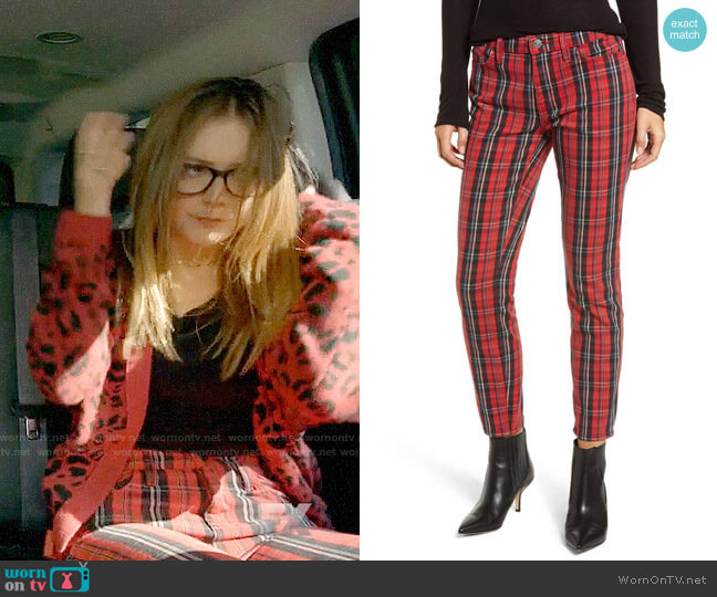 Current Elliott The Stiletto Skinny Jeans worn by Mallory (Billie Lourd) on American Horror Story