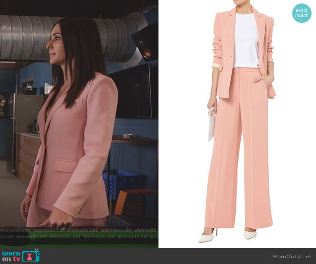 Carson Blazer and Harmon Trousers by Elizabeth and James worn by Nina (Camila Banus) on Star