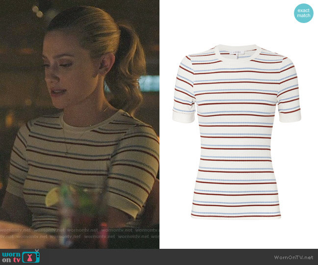 Betty's striped top on Riverdale