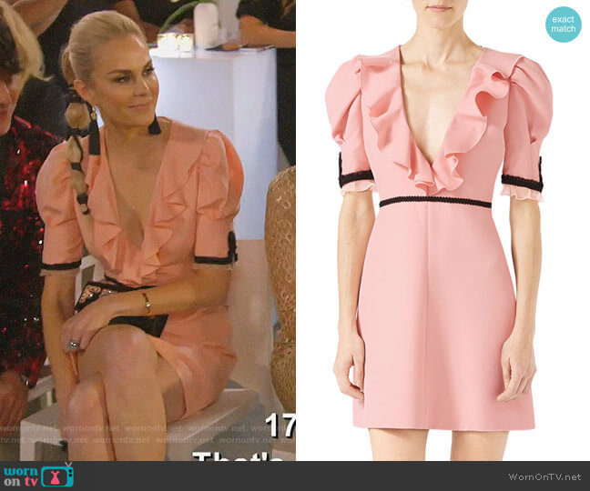 Crepe Silk Wool Dress by Gucci worn by Kameron Westcott  on The Real Housewives of Dallas
