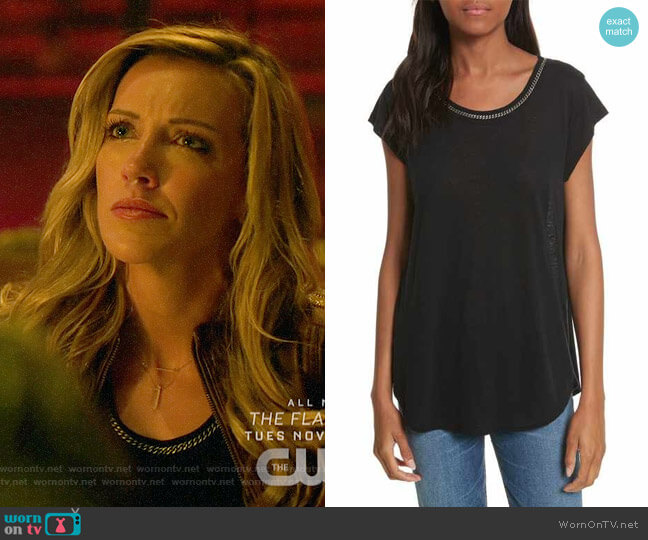 Joie Damani Top worn by Laurel Lance (Katie Cassidy) on Arrow