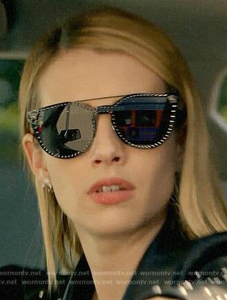 efe2e245e645e3 Madison s studded sunglasses on American Horror Story  Apocalypse