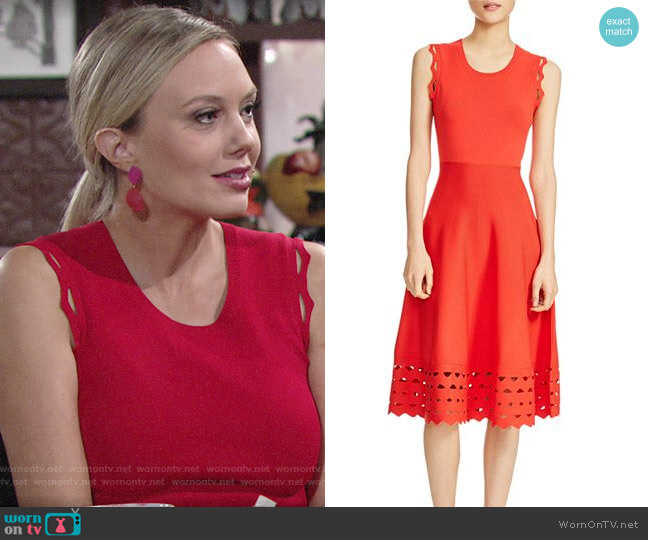 Maje Rumba Dress worn by Abby Newman (Melissa Ordway) on The Young & the Restless