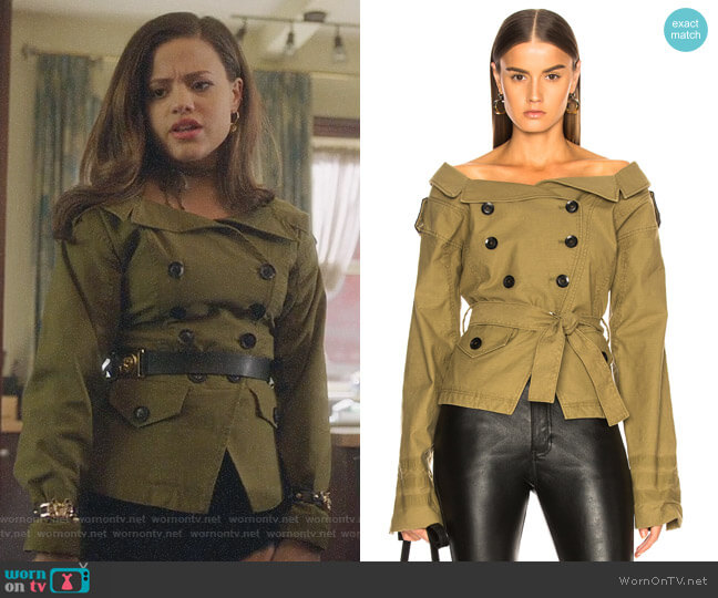 Marissa Webb Noah Jacket worn by Maggie Vera (Sarah Jeffery) on Charmed