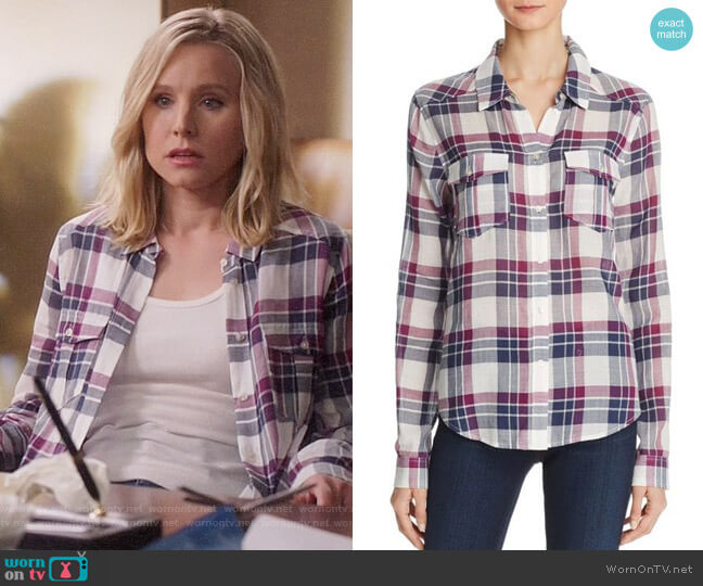 Paige Mya Shirt worn by Kristen Bell on The Good Place