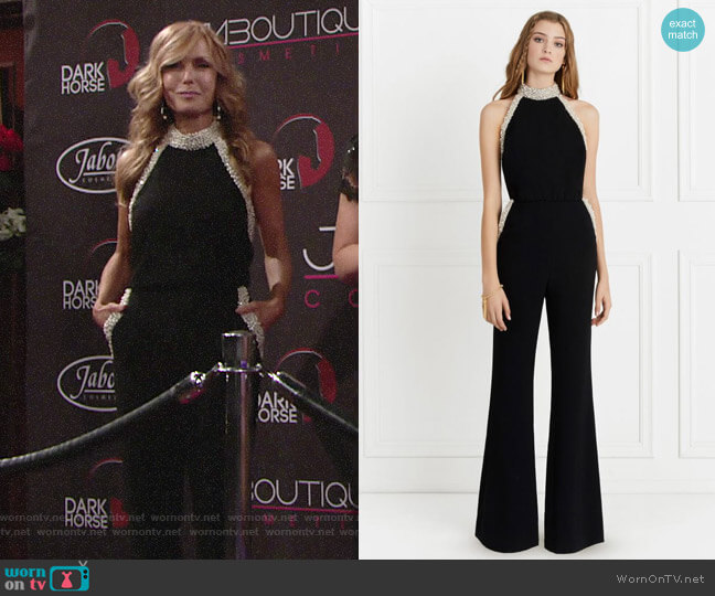 Rachel Zoe Elinor Jumpsuit worn by Lauren Fenmore (Tracey Bregman) on The Young & the Restless
