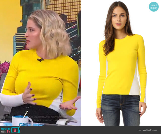 Cecilee Sweater by Rag & Bone worn by Sara Haines  on Good Morning America