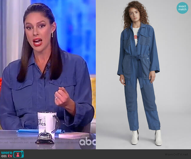 Henri Jumpsuit by Rag and Bone worn by Abby Huntsman  on The View
