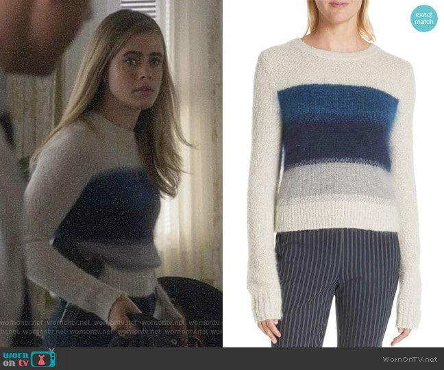 Holland Sweater by Rag & Bone worn by Michaela Stone (Melissa Roxburgh) on Manifest