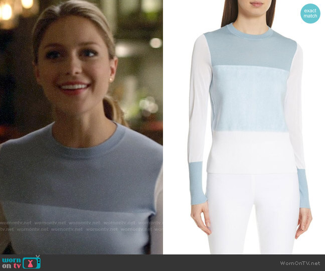 Rag & Bone Marissa Sweater worn by Kara Danvers (Melissa Benoist) on Supergirl