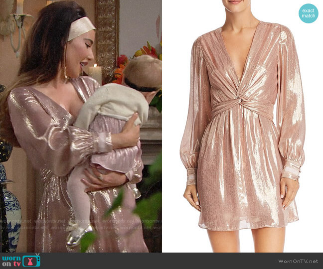 Ramy Brook Elise Dress worn by Steffy Forrester (Jacqueline MacInnes Wood) on The Bold & the Beautiful