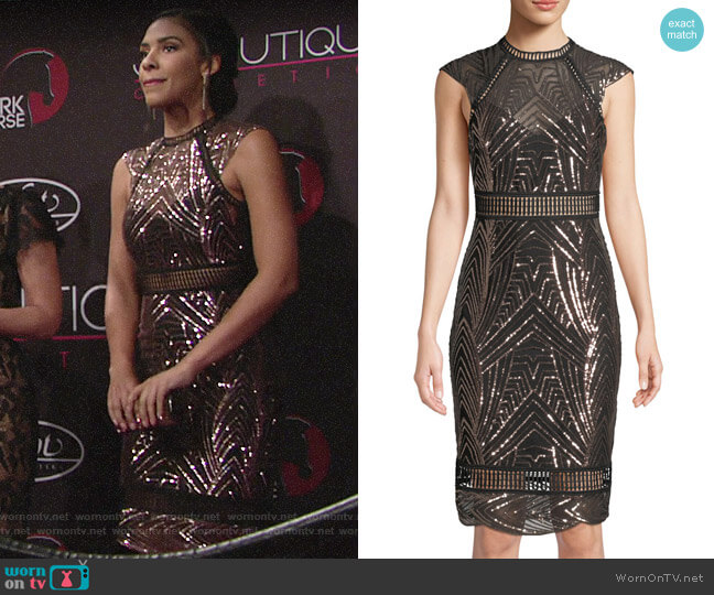 Saylor Heloise Dress worn by Kerry Johnson (Alice Hunter) on The Young & the Restless