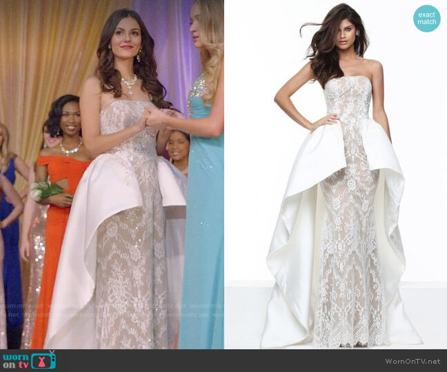 Sherri Hill 50842 Dress worn by Hayley (Victoria Justice) on Queen America