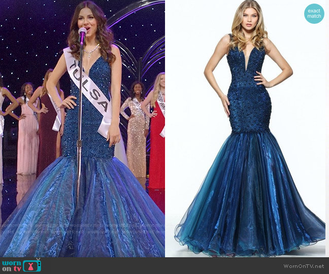 Sherri Hill 50848 Dress worn by Hayley (Victoria Justice) on Queen America