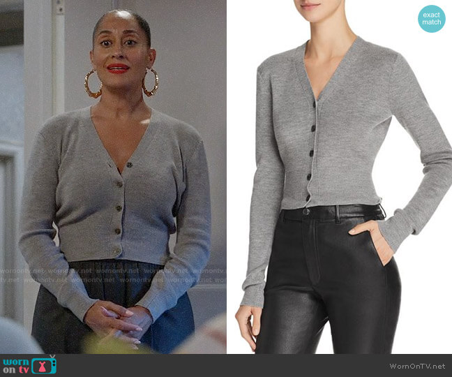 Bo's grey cardigan on Black-ish