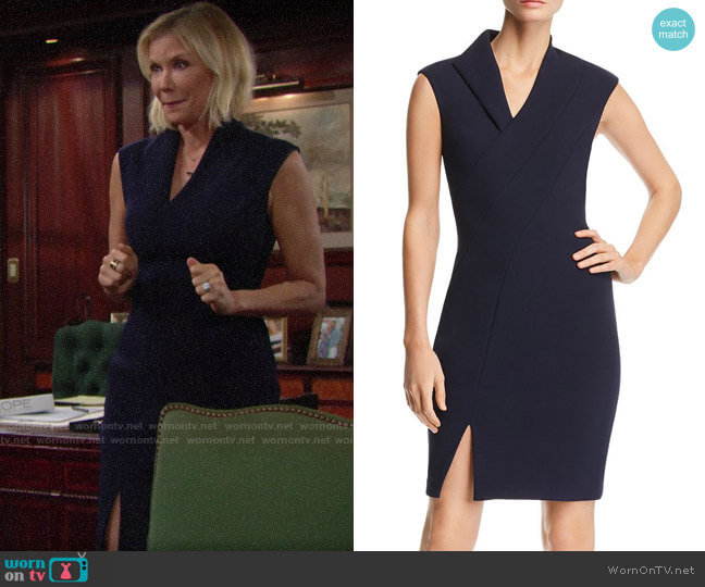 Ted Baker Geodese Dress worn by Brooke Logan (Katherine Kelly Lang) on The Bold & the Beautiful