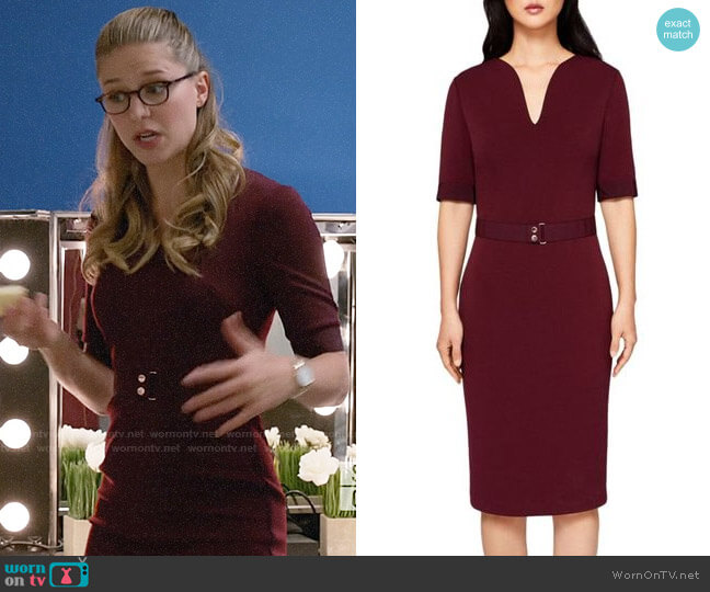 Ted Baker Jesabil Dress worn by Kara Danvers (Melissa Benoist) on Supergirl