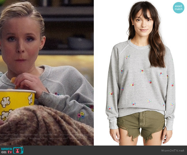 The Great The College Sweatshirt worn by Eleanor Shellstrop (Kristen Bell) on The Good Place