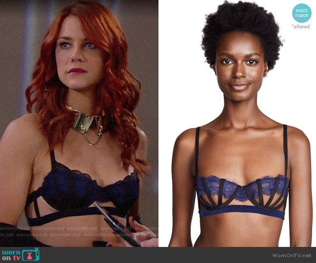 Thistle & Spire Sidney Bra worn by Sally Spectra (Courtney Hope) on The Bold & the Beautiful