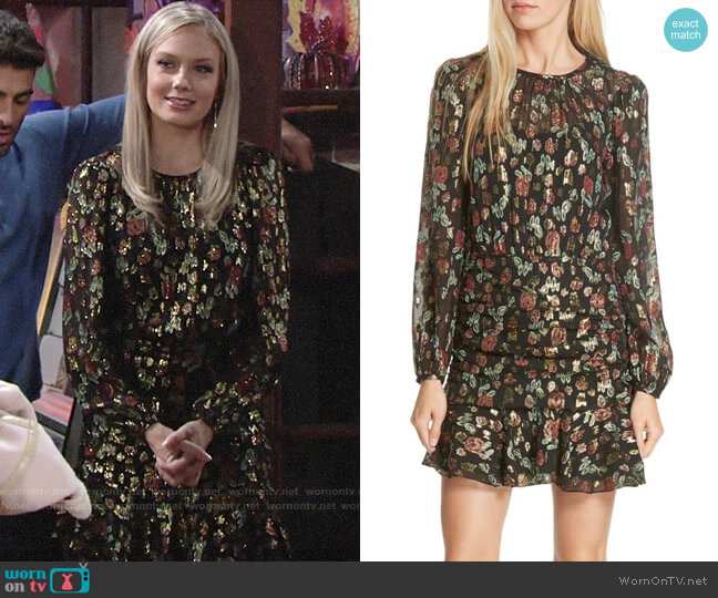 Veronica Beard Robin Dress worn by Abby Newman (Melissa Ordway) on The Young & the Restless