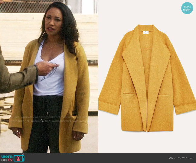Wilfred Chandelle Jacket worn by Candice Patton on The Flash