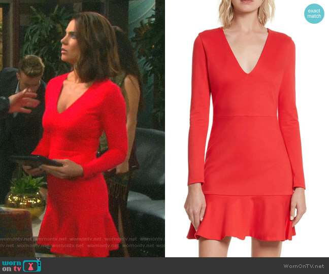 Francine Dress by Alice + Olivia worn by Chloe Lane (Nadia Bjorlin) on Days of our Lives