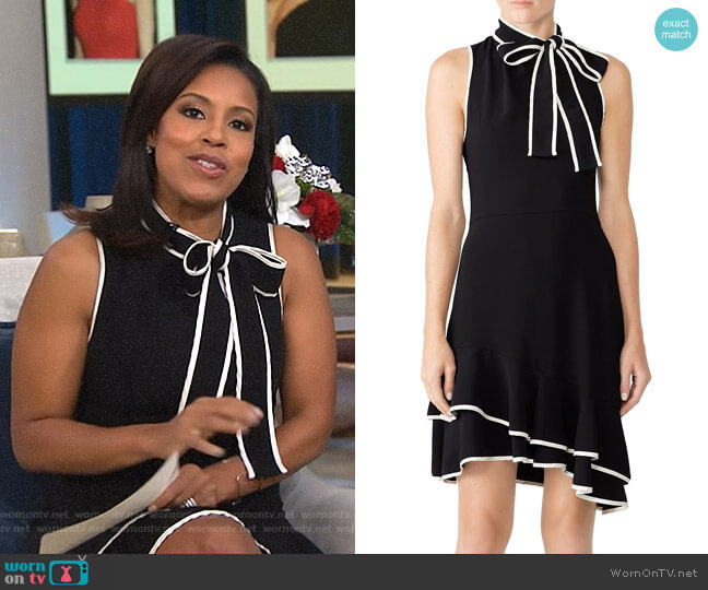 Liora Dress by Amanda Uprichard worn by Sheinelle Jones  on Today