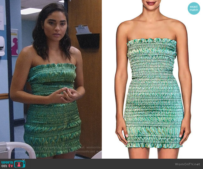 Emily Dress by Area worn by Simone Davis (Brittany O'Grady) on Star