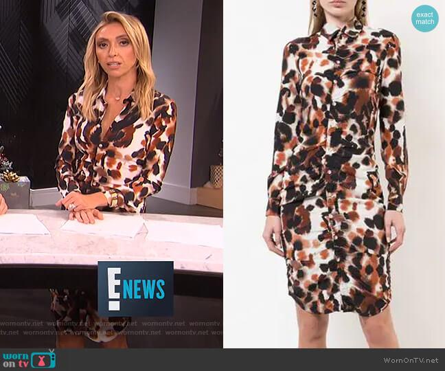 Fionne Dress by Area worn by Giuliana Rancic  on E! News