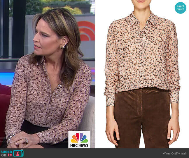 Chika Blouse by Altuzarra worn by Savannah Guthrie  on Today