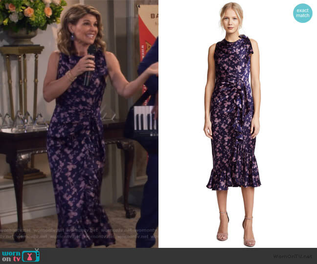 Nanon Dress by Cinq a Sept worn by Rebecca Katsopolis (Lori Loughlin) on Fuller House