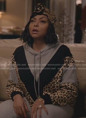 Cookie's leopard print hoodie on Empire