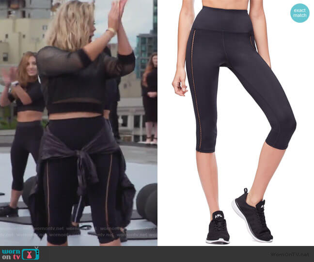 The Curve Sculpt Capri Legging by Good American worn by Khloe Kardashian  on Keeping Up with the Kardashians