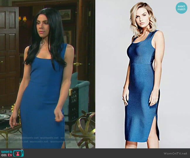 Olesia Dress by Guess worn by Abigail Deveraux (Kate Mansi) on Days of our Lives