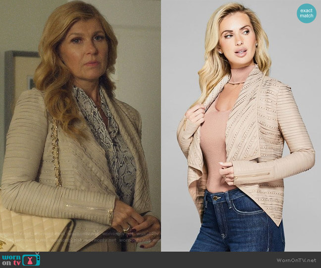 Rael Jacket by Guess worn by Debra Newell (Connie Britton) on Dirty John