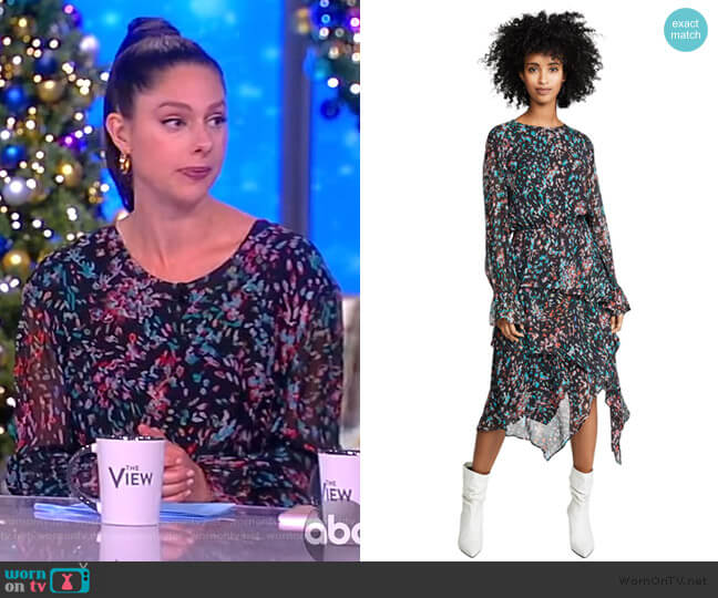 Blank Dress by IRO worn by Abby Huntsman  on The View
