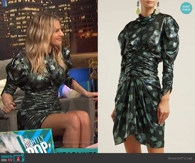 Parman Top and Paris Skirt by Isabel Marant worn by Morgan Stewart  on E! News