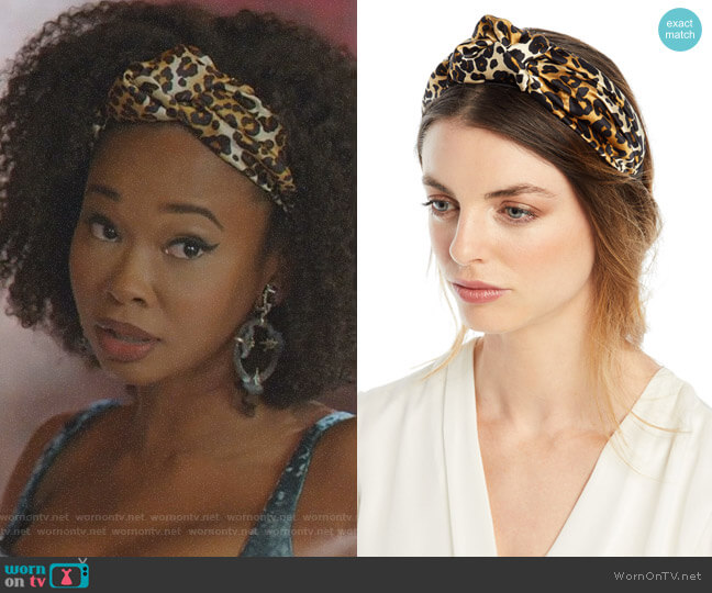 Fiona Headband by Jennifer Behr worn by Monica Colby (Wakeema Hollis) on Dynasty