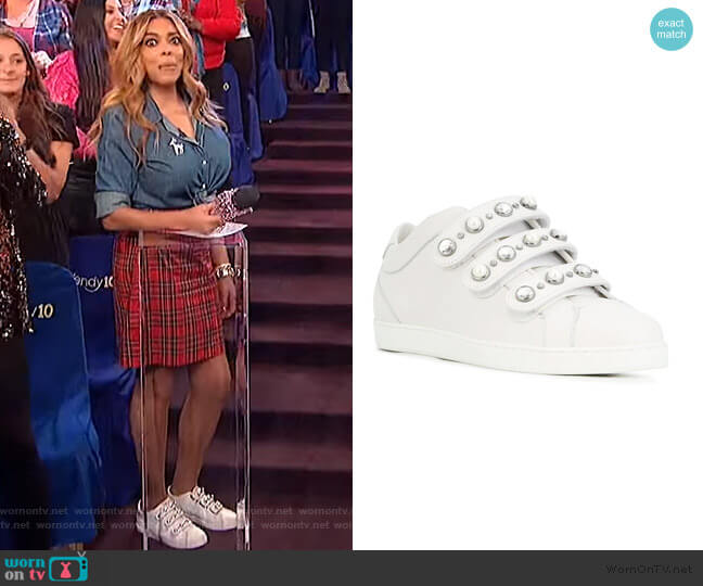 NY Sneakers by Jimmy Choo worn by Wendy Williams  on The Wendy Williams Show